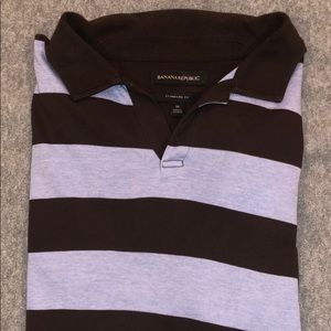 Banana Republic Standard Fit - Johnny Collar Polo